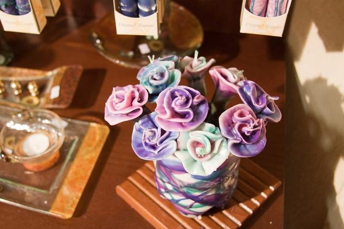 Магазин декоративных свечей в Цфате (20 фото)