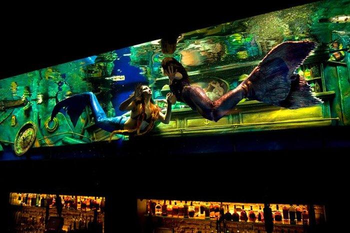 Русалки в баре (15 фото + текст)