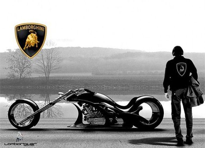 Мотоциклы от Lamborghini (12 фото)