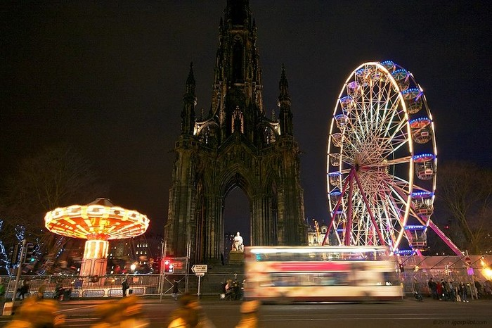 Хогманей: новогодний Эдинбург (29 фото)