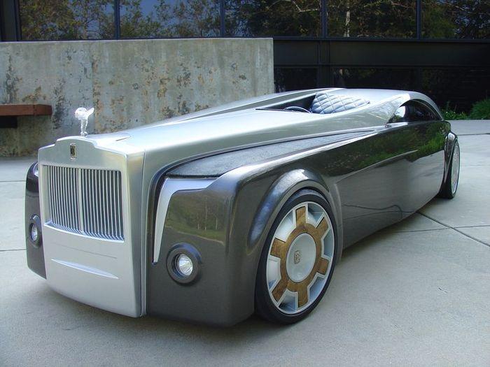 Студент из США продемострировал концепт Rolls-Royce Apparition (46 фото)