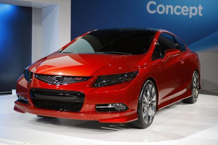 Девятое поколение Honda Civic показали в Детройте (48 фото+3 видео)