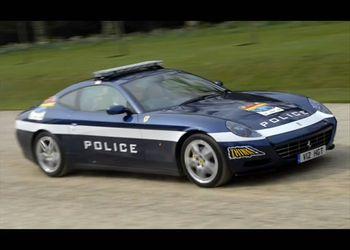 Крутые тачки для полиции