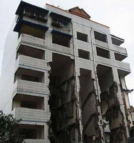 Как выселяют жильцов в Китае? (2 фото)