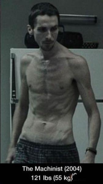 Трансформация тела Кристиана Бейла (6 фото)