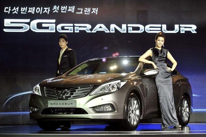 Новый Hyundai Grandeur официально показали в Южной Корее (17 фото+видео)