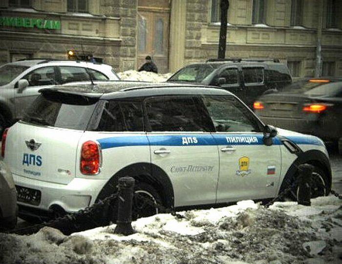 В Северной столице появился автомобиль пИлиции ДПS! (5 фото)
