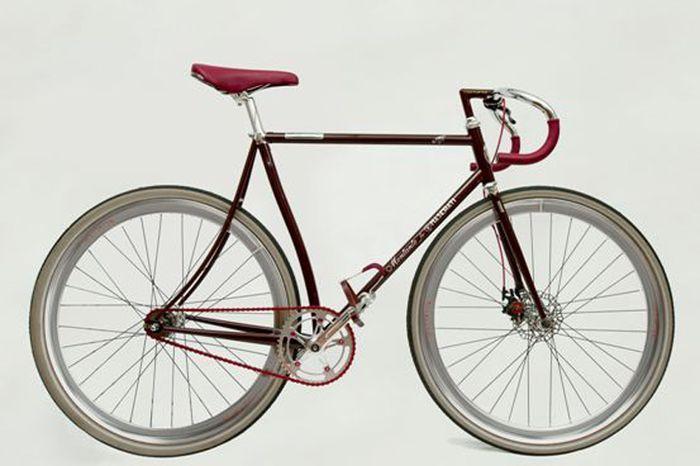 Велосипед для Maserati от велобренда Montante (6 фото)