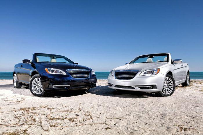 Компания Chrysler официально представила новый кабриолет (28 фото)