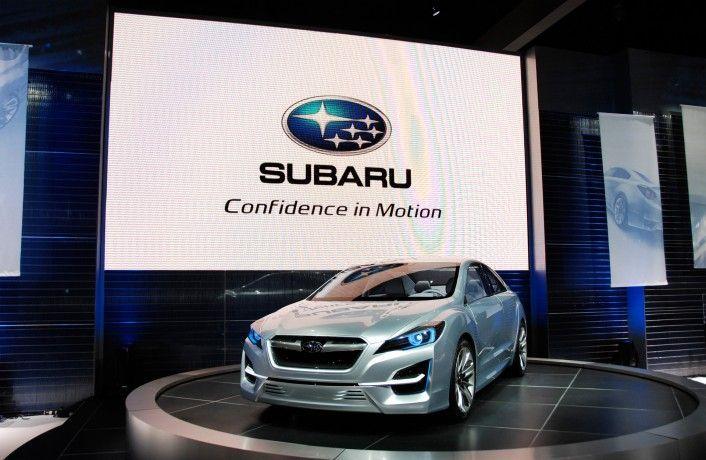 Прототип заднеприводного купе от Subaru (50 фото)