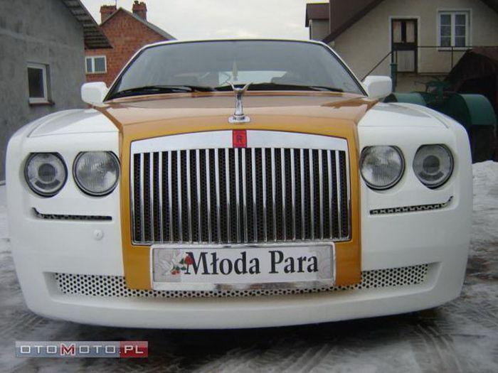 BMW 750i V12 E32 превратился в Rolls Royce Phantom (9 фото)