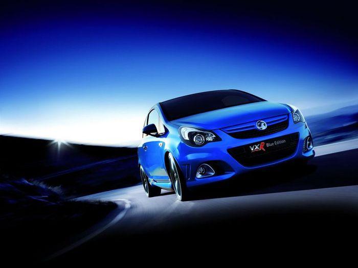 Vauxhall Corsa VXR Blue Edition (2 фото)