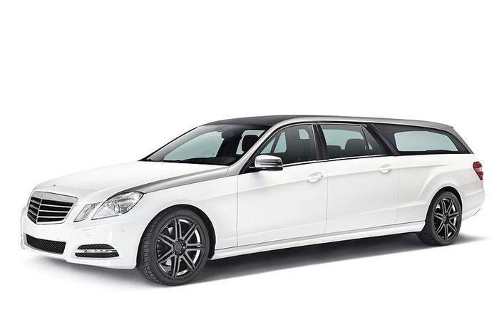 Binz удлинили  Mercedes E-Class на метр и назвали его Xtend (9 фото)