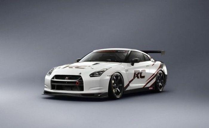 NISMO представили свой Nissan GT-R RC в Токио (3 фото)