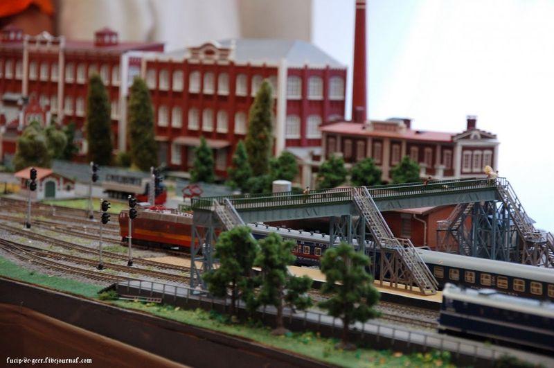 1. Как и раньше немалая часть экспозиции была посвящена участку, принадлежащему Казанской железной дороге