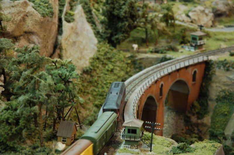10. Мост над ущельем на участке Армавир-Туапсе.