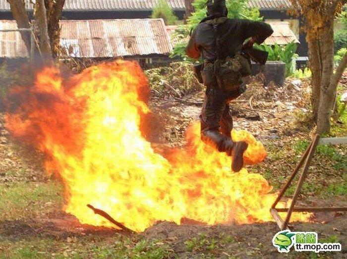 Солдаты тайского спецназа (20 фото)
