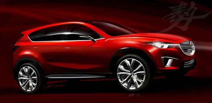 Компания Mazda покажет новый концепт Minagi в Женеве (3 фото)