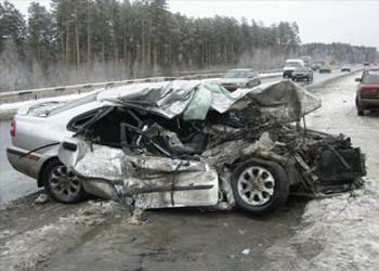Фотонарезка жестких аварий из-за превышения скорости