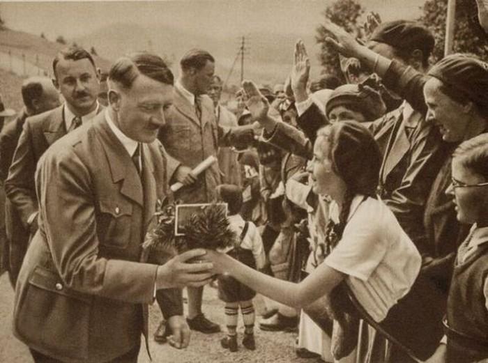 Ранее не опубликованные фотографии Адольфа Гитлера (39 фото)