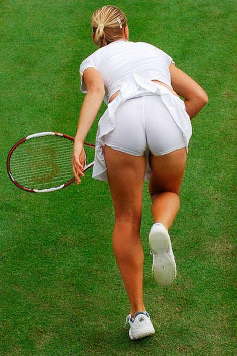 Раздвинула пикантные подглядывания в теннисе видео