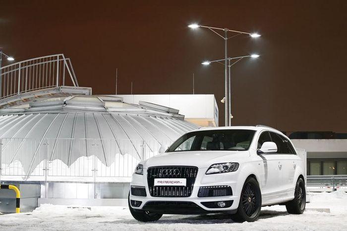 MR Car Design затюнил дизельный Audi Q7 (12 фото)