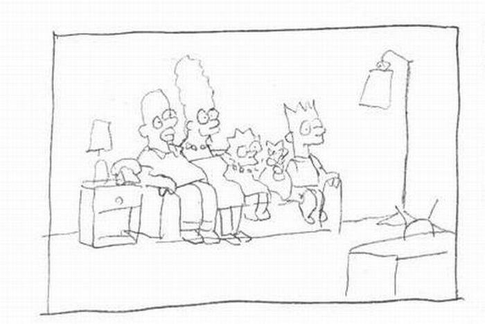Вся правда о создании Cимпсонов (21 фото)