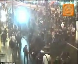 Фанаты избили полицейских