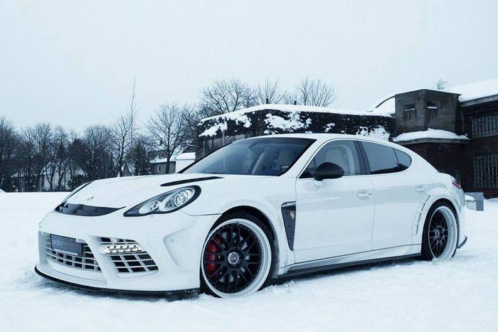 Самый мощный Porsche Panamera Turbo от Edo Competition (27 фото)
