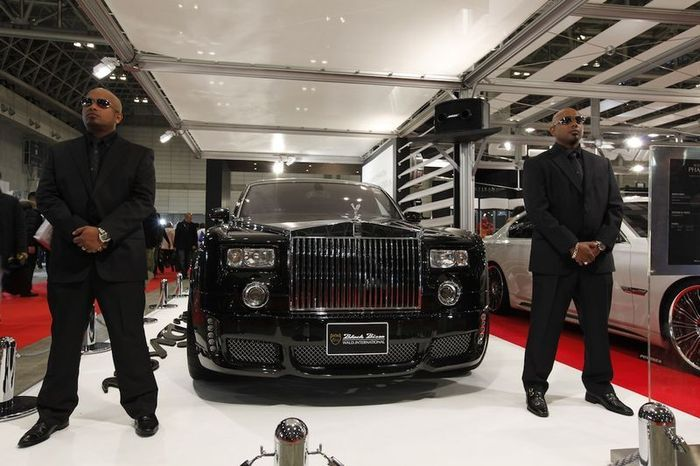 Rolls-Royce Phantom от ателье WALD International (5 фото)