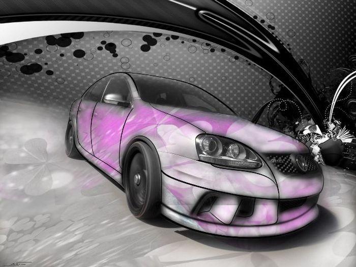 Новым годом, крутые машины картинки с эффектами