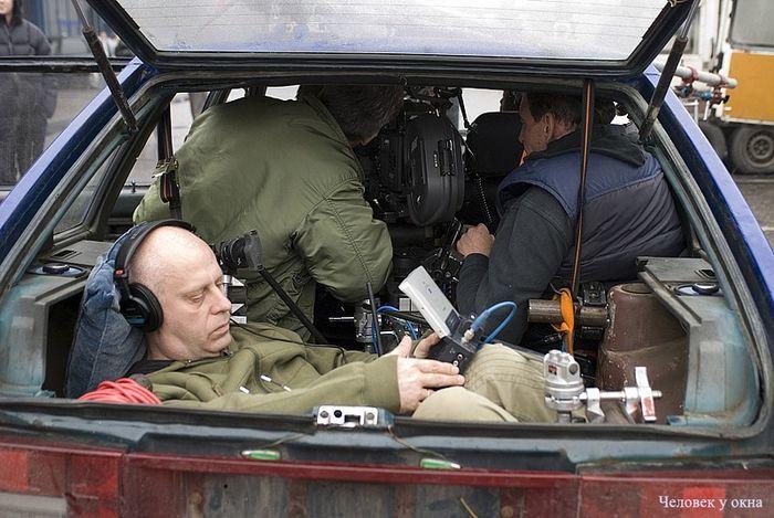 Как снимают сцены в машине (5 фото)
