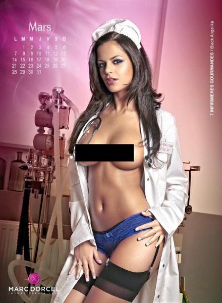 Календарь на 2011 год от киностудии Marc Dorcel (14 фото)