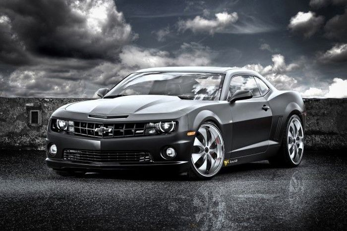 Chevrolet Camaro SS Black Cat от ателье Speed Box (4 фото)