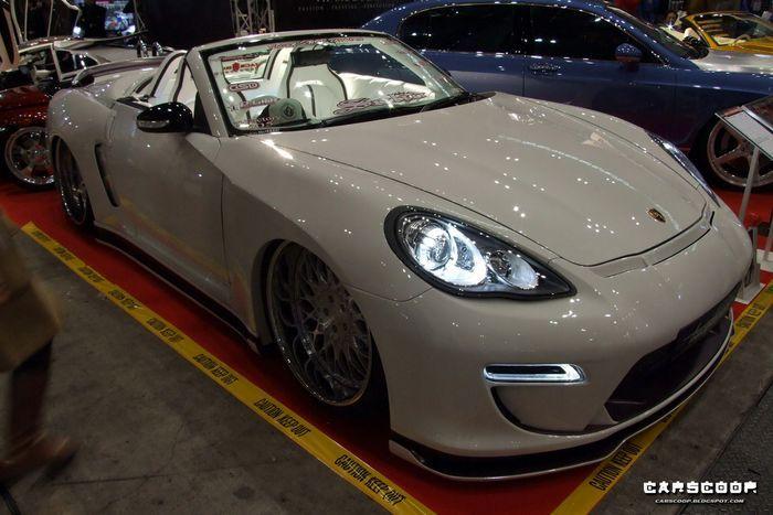 Nissan 350Z  перевоплотился в Porsche Panamera Convertible (17 фото+видео)