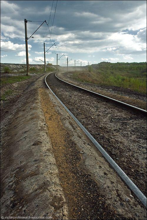 Верхний уровень железнодорожной ветки.