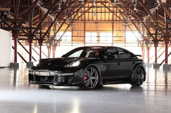 Techart представили пакет стайлинга для Porsche Panamera (8 фото)