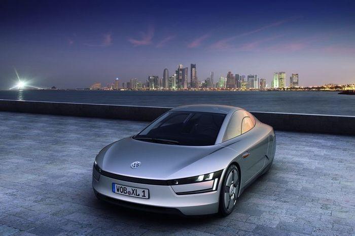 Новый Volkswagen XL1: Diesel-Electric Hybrid Concept (32 фото)