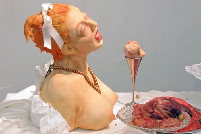 картинки головой в торт противном