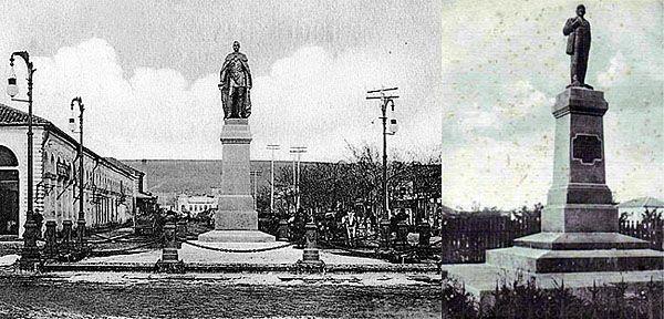 Бердянск. Памятник Александру II, открыт в 1907 году.