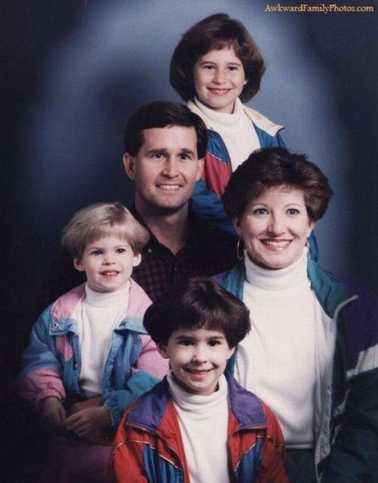 Прикольные семейные фотографии (126 фото)