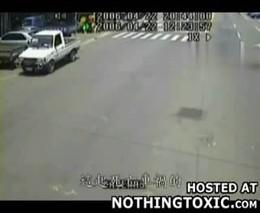 Столкновение скутеров
