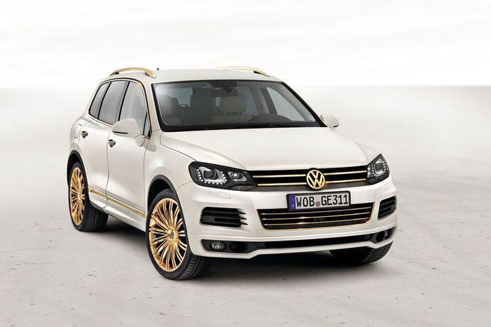 Еще две новинки от Volkswagen представлены в Катаре (21 фото)