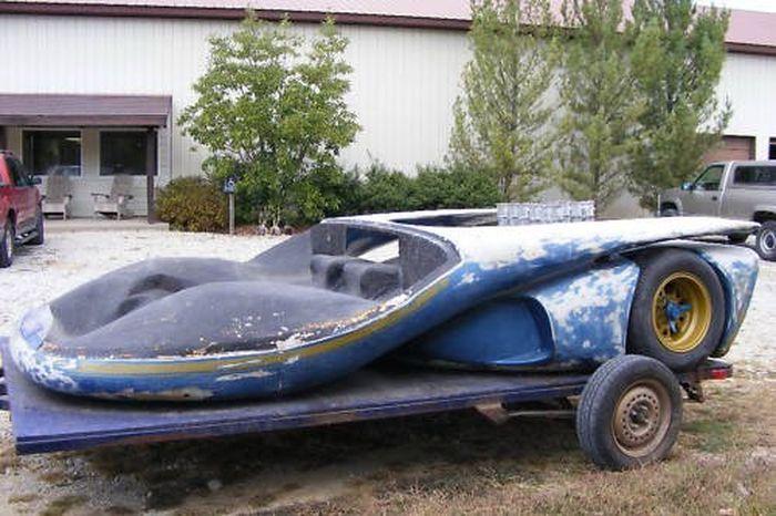Потерянный Lamborghini Miura Le Mans найден! (16 фото)