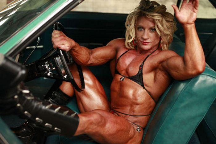 Мускулистые женщины голые фото супер