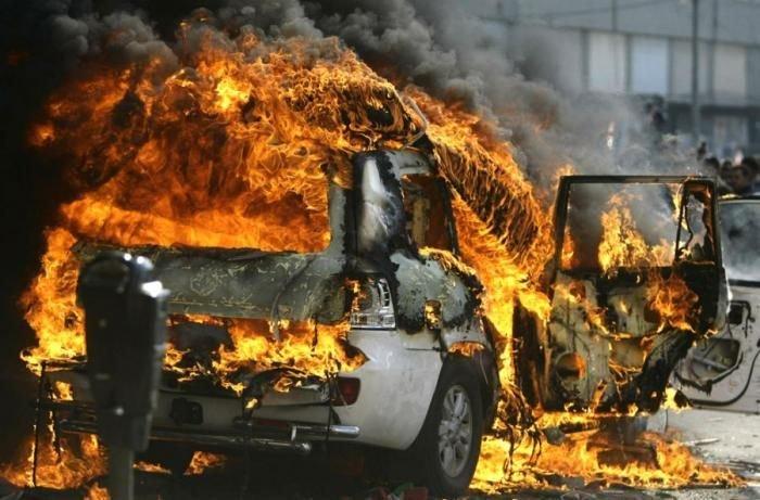 Акции протеста на Ближнем Востоке  (32 фото)
