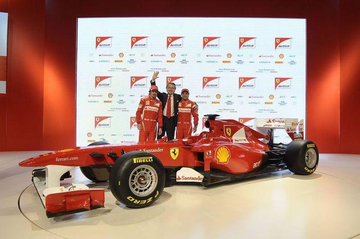 Презентация нового болида Ferrari F150 состоялась (21 фото+видео)