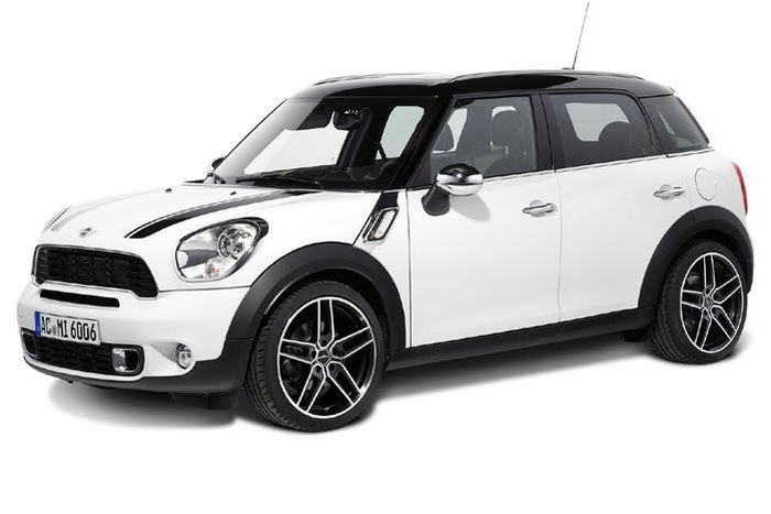 Тюнеры из AC Schnitzer представили пакет для MINI Countryman (9 фото)