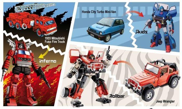 Transformers и автобренды. Инфографика (большое фото)