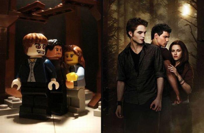 Известные сцены из фильмов в стиле LEGO (29 фото)